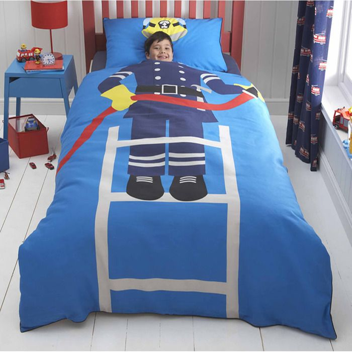 When I Grow Up Junior Bedding - Fire Rescue (With images ...