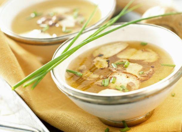 Aprende a preparar la sopa de hongos