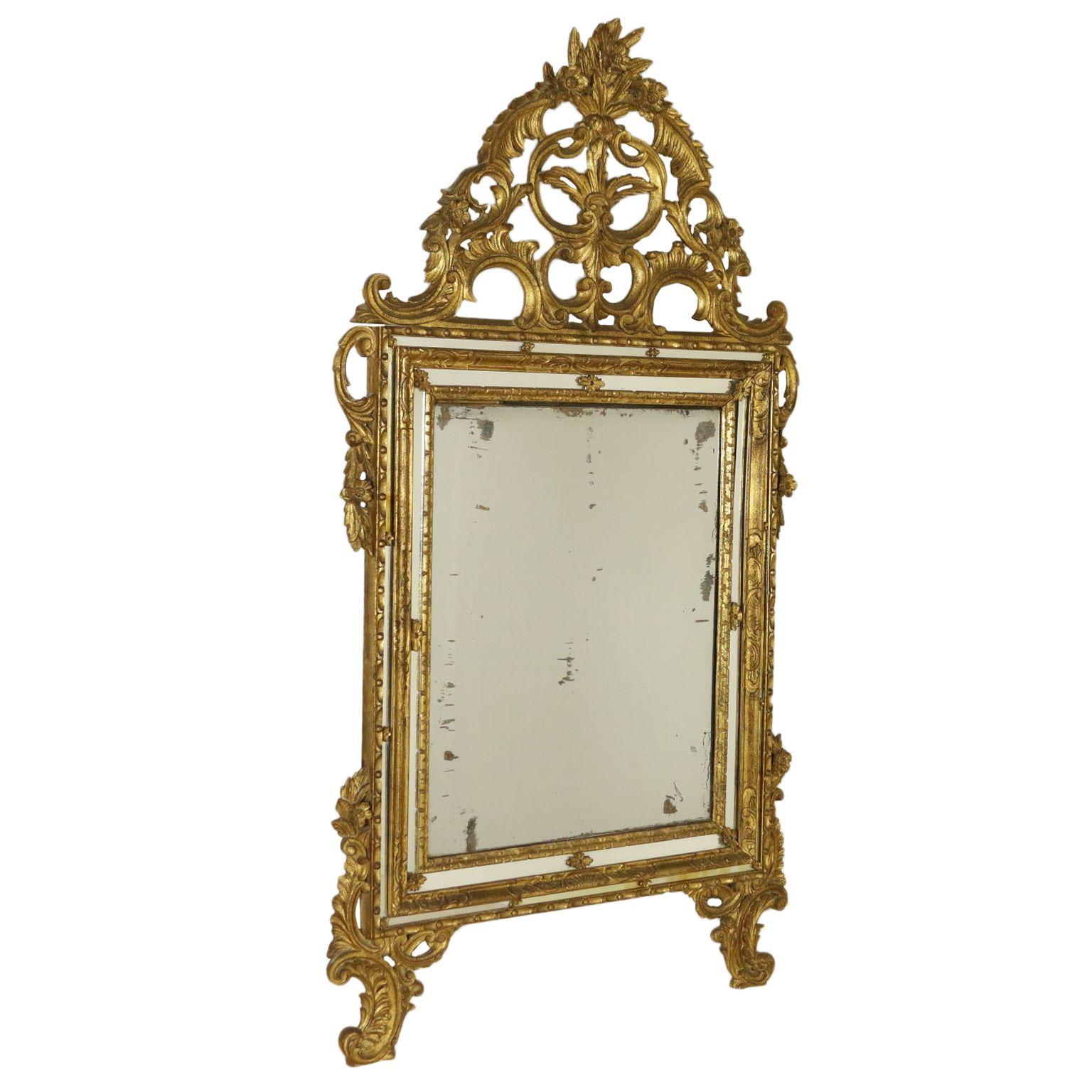 Specchiera in stile Legno intagliato, Cornici in legno