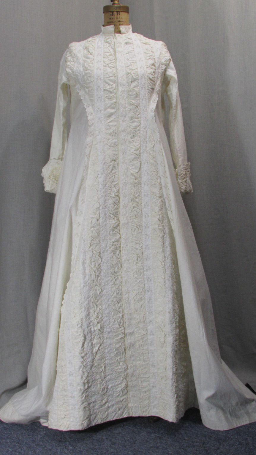Victorian Morning Dressing Gown Robe