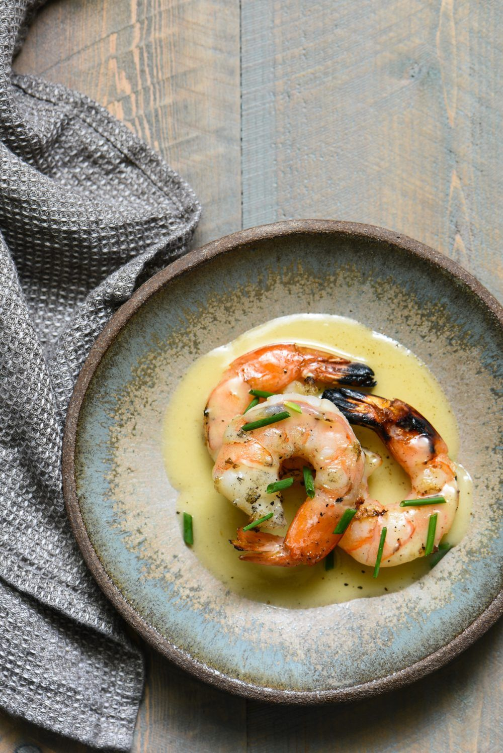 Grilled Shrimp with Vanilla Beurre Blanc - Foxes Love Lemons