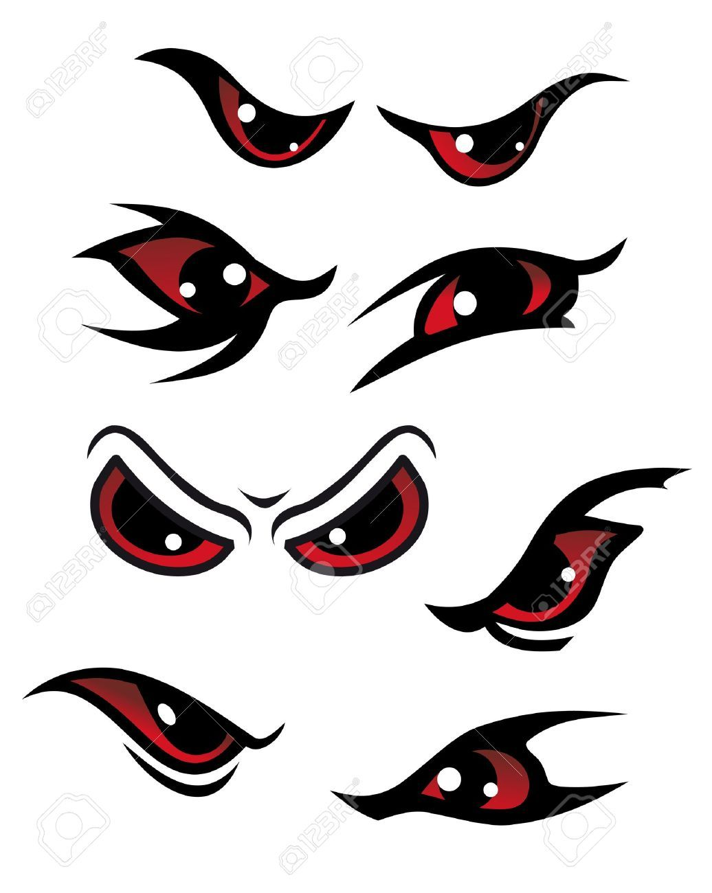 Scary Bloodshot Eyes Cartoon images & pictures - NearPics ...