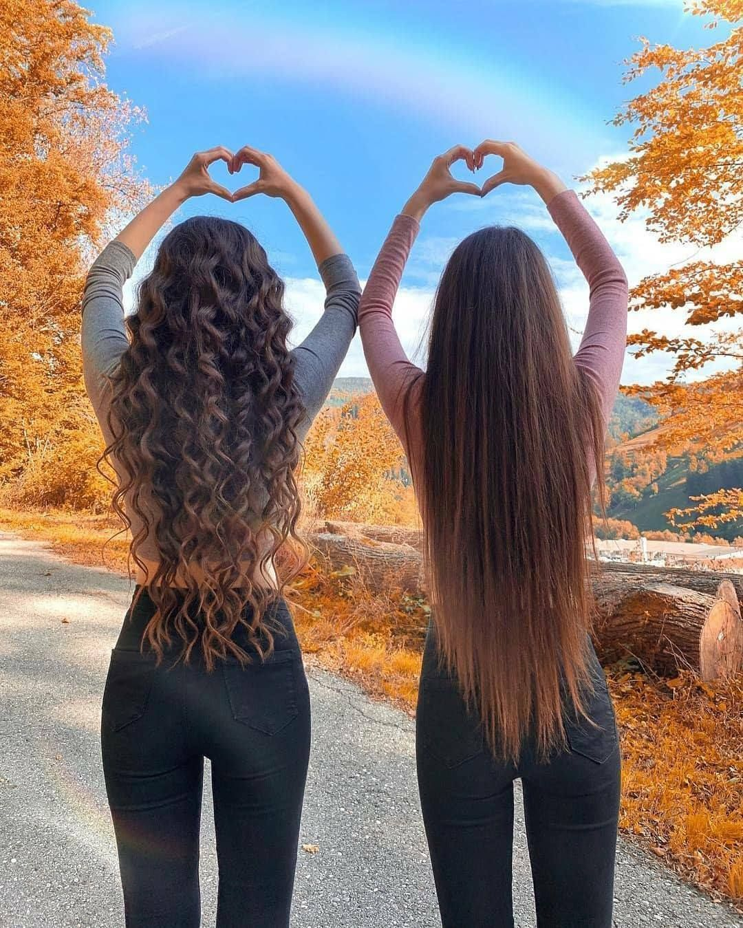 Bff Hair Goals 3 Best Friend Poses Bff Photography Best Friend Photoshoot