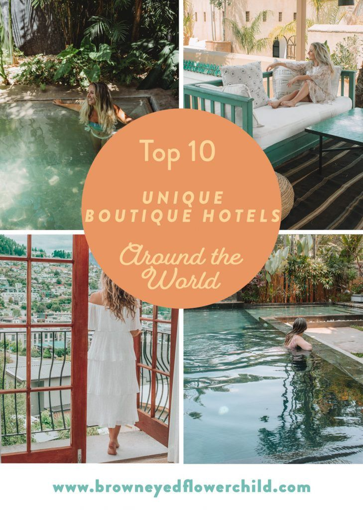 Discover the best unique boutique hotels around the world. Learn how you could have an authentic and luxurious experience without breaking the bank. #uniquehotels #boutiquehotelguide #coolestboutiquehotels #uniquesmallhotels #boutiquehotels #uniqueboutiquehotels #bestboutiquehotels #smallluxuryhotels