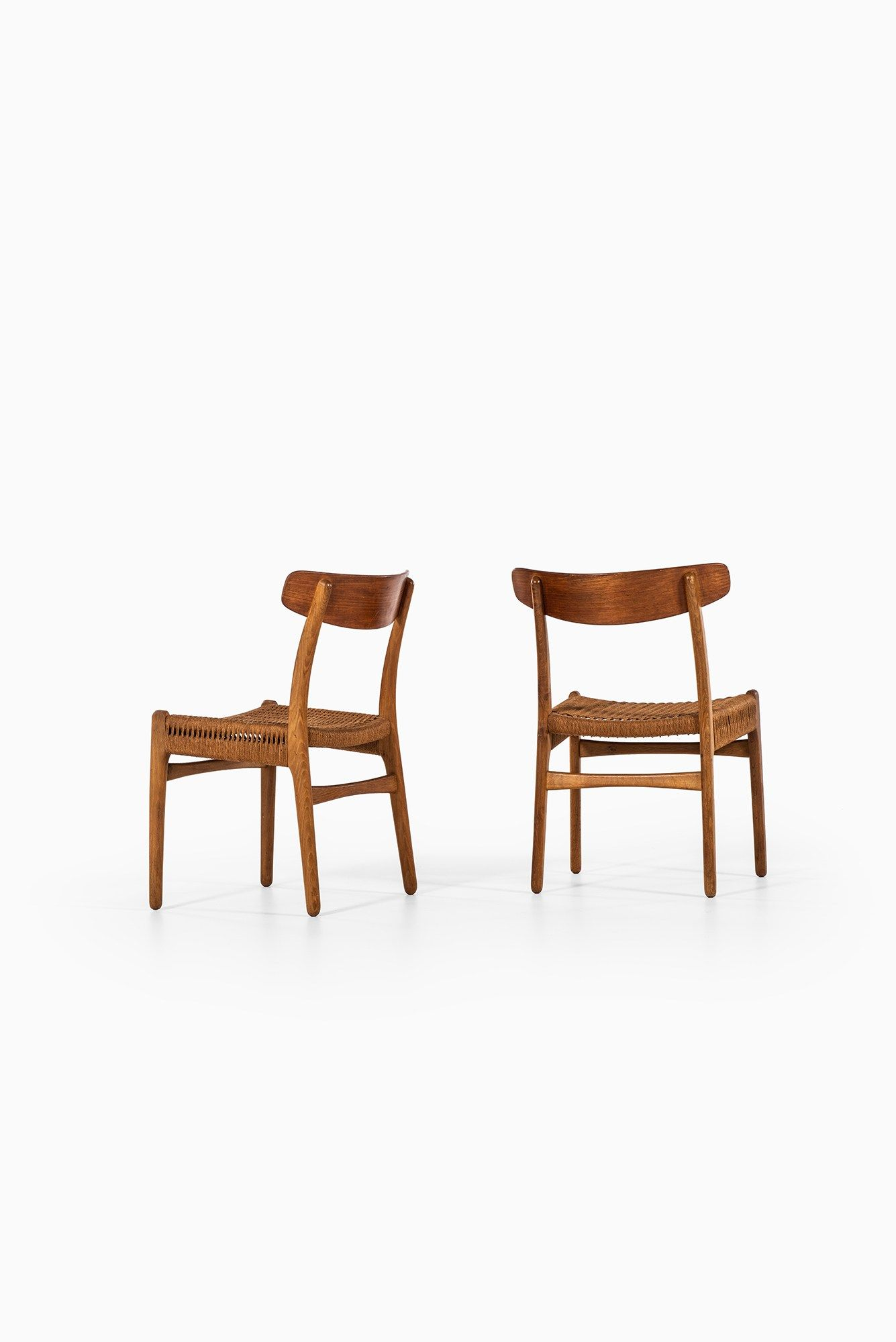 Hans Wegner Ch 23 Dining Chairs Mit Bildern