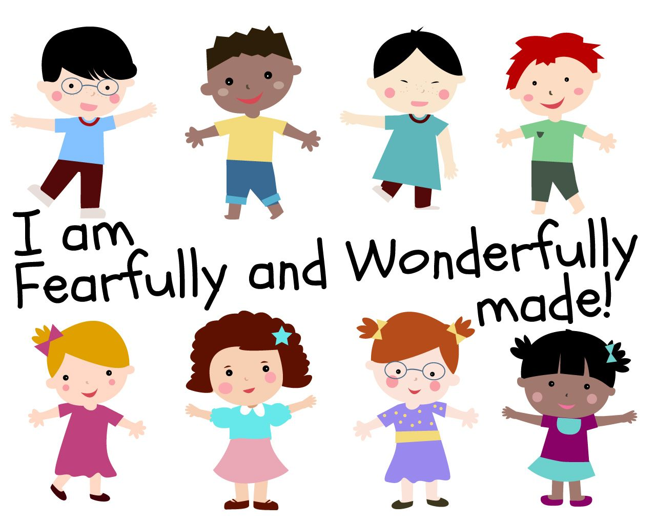 'I Am Fearfully and Wonderfully Made' Childrens Lesson on ...