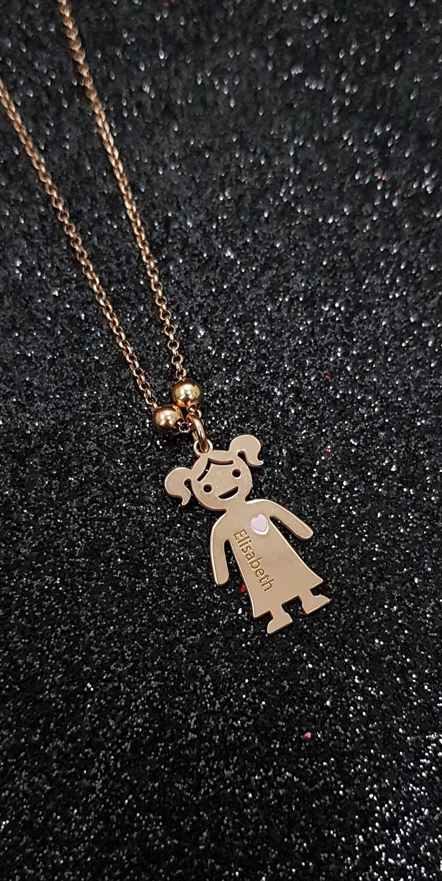 925 Sterling Silver Teddy Bear Necklace CZ Charm Pendant Children Child NEW
