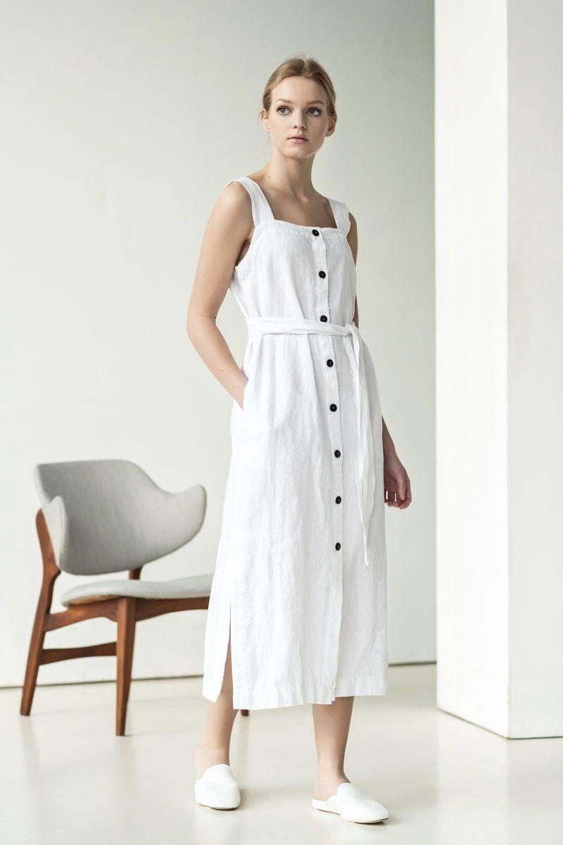 White Linen Dress Outfit For Rustic Bride For Vintage Bride For Boho Bride And Simple Bride White Linen Dress Summer Vintage Linen Dress Natural Linen Dress [ 1200 x 800 Pixel ]