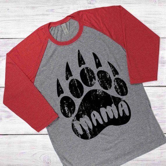 picture regarding Printable Tshirt Vinyl called Distressed Mama Undertake SVG, Undertake paw svg, Printable T-Blouse