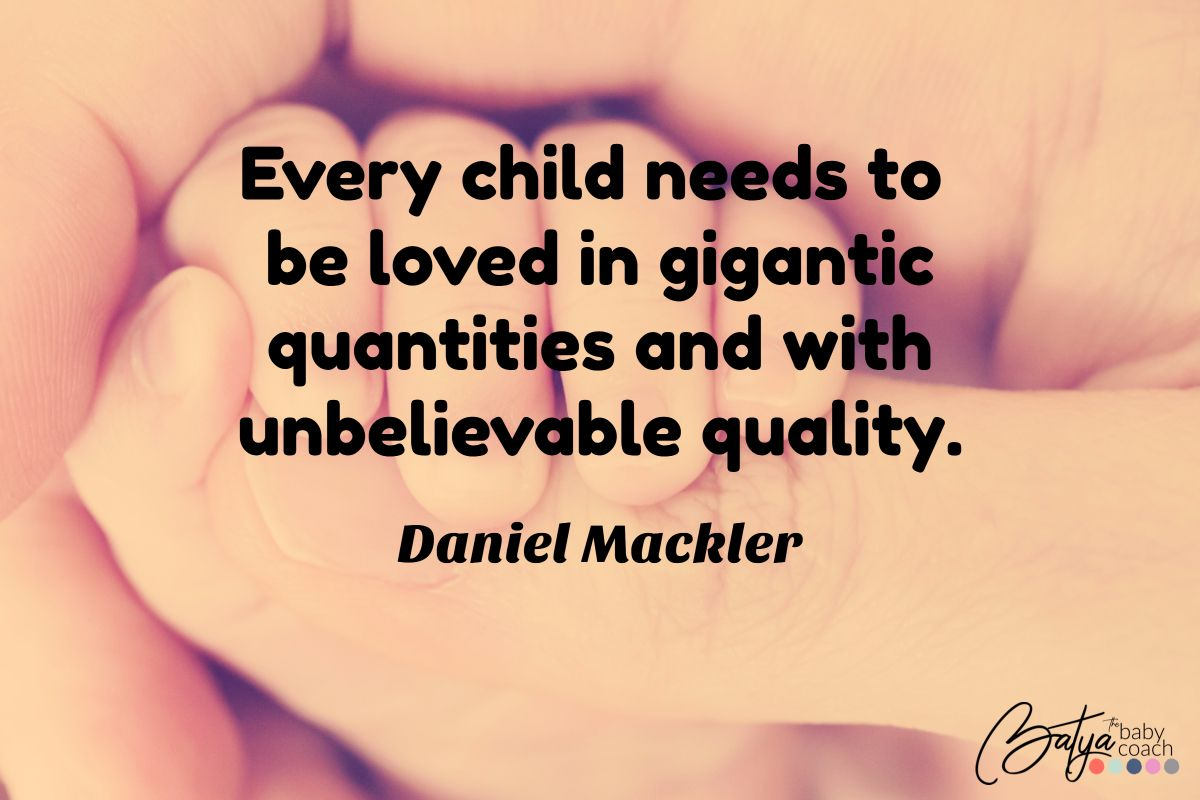 Bedtime Love Quotes When It Comes To Love And Children They Deserve Both Quantity