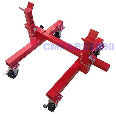 Details About 900kg Mobile Axle Stands Car Mover Movable
