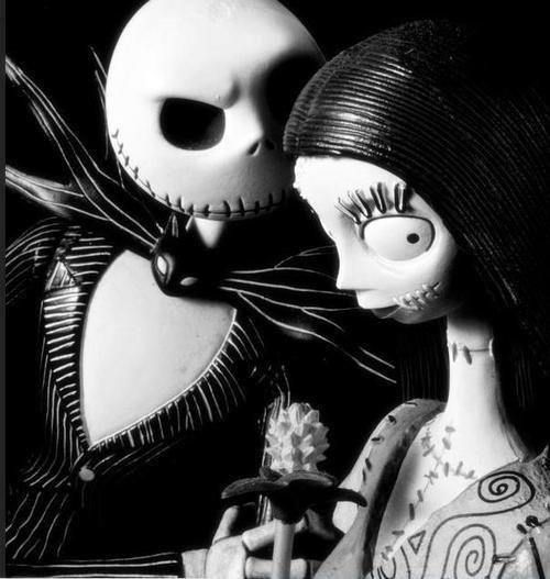 A very romantic picture Nightmare Before Christmas Pinterest - romantic halloween ideas