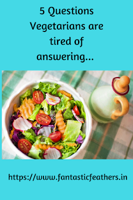 5 Questions That Vegetarians Are Tired Of Answering Mondaymusings Lean And Green Meals Vegetarian Greens Recipe