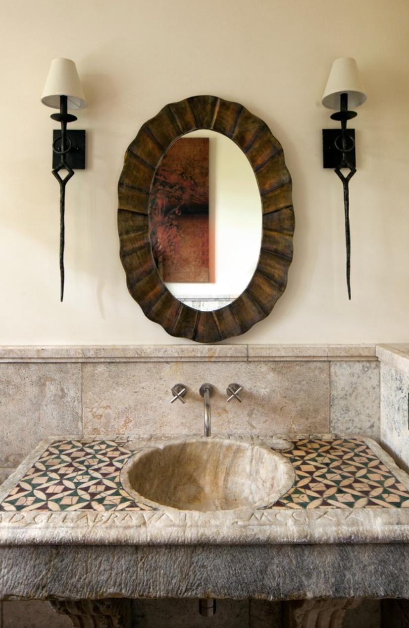 Große Badezimmer · Toskana Style · Spanischer Stil · Badezimmerideen ·  Tuscan Style