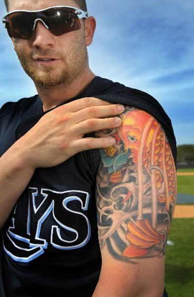jonny gomes tattoo celebrity tattoos pinterest tattoo
