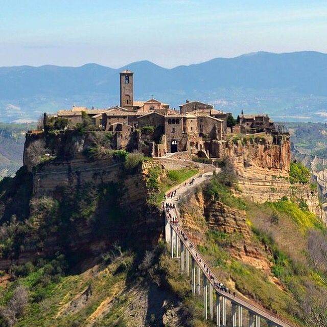 The Incredible Medieval Town Of Civita Di Bagnoregio Only 1 Hour