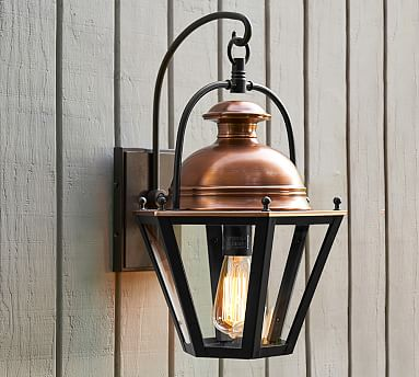 Case Indoor Outdoor Sconce Outdoor Sconces Outdoor Light Fixtures Pottery Barn Outdoor