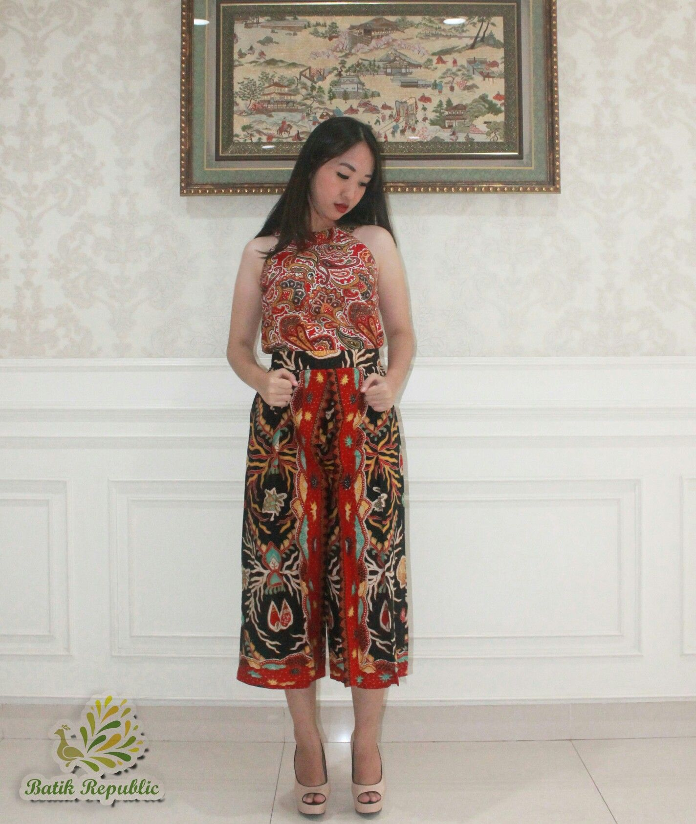 Batik Cullotes Kulot Batik Batik Pants Celana Batik Order by WA