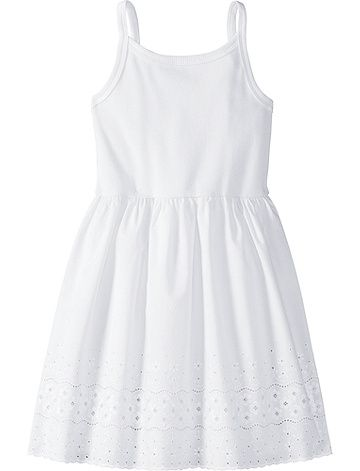 Pure Cotton Eyelet Slip From Hanna Andersson Pretty Little Dress Clothes Design Clothes