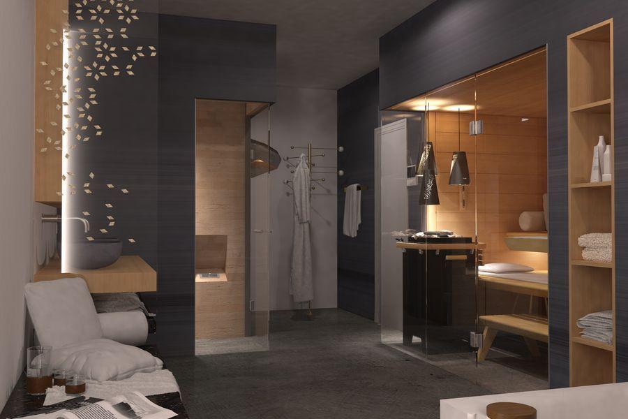 Pin Von Eicb Auf Sauny In 2020 Badezimmer Mit Sauna Kurmittelhaus