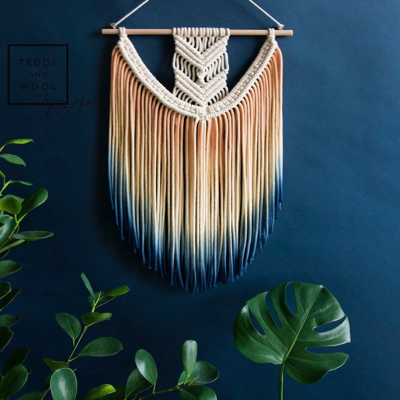 Stunning Large Macrame Wall Hanging Available In Different Etsy Makramee Vorhang Makramee Wandbehang Wandbehang - Vorhang Artikel