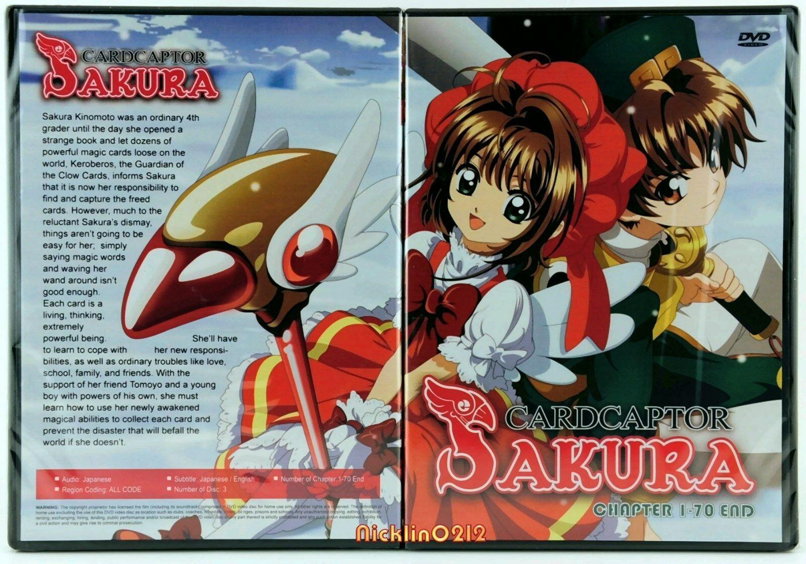 Cardcaptor Sakura Complete Anime 1 70 Tv Episodes Series
