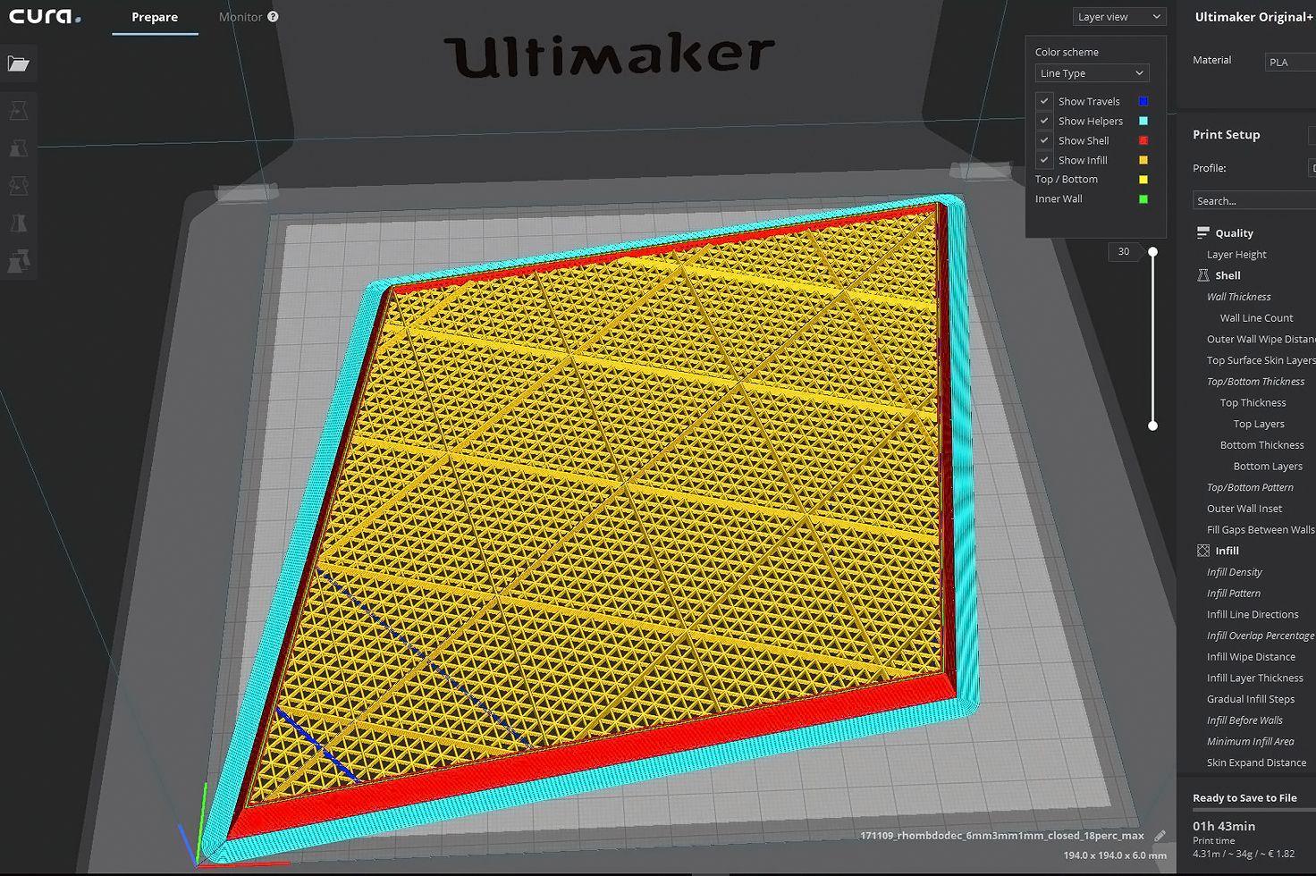 Panel Light by WertelOberfell - Cura software | Panel Light