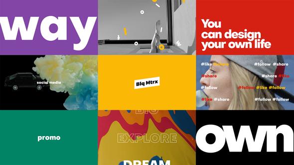Bold Typo Opener Event Promo Bold Typography Typography