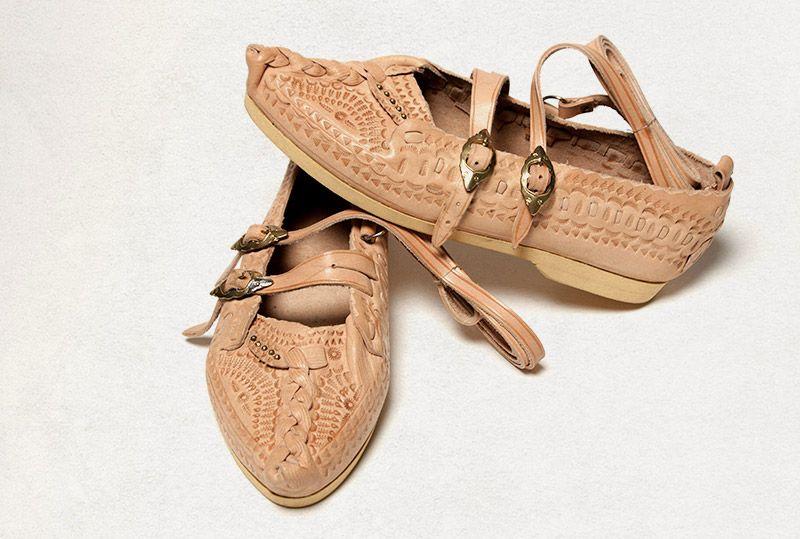 c3d4ddd4fa1c8 Kierpce - folk shoes from the mountain areas of Poland