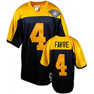the latest a0266 77622 Brett Favre-75th Anniversary-Black Jersey $19.99 This jersey ...
