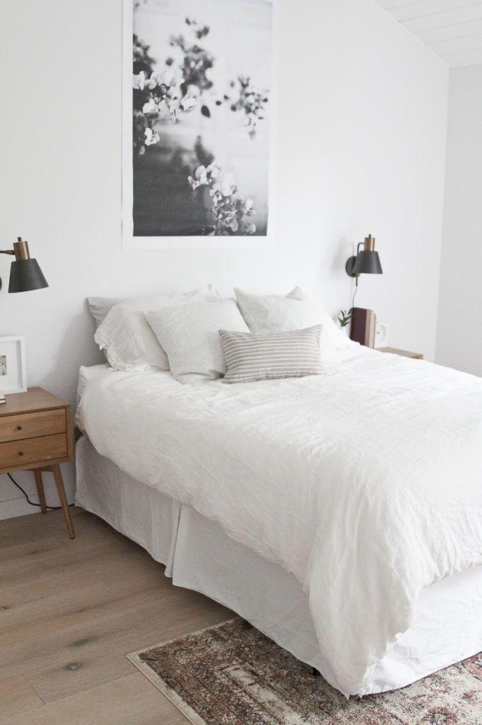 Einfache Bett Design - Schlafzimmer | Schlafzimmer skandinavisch ...