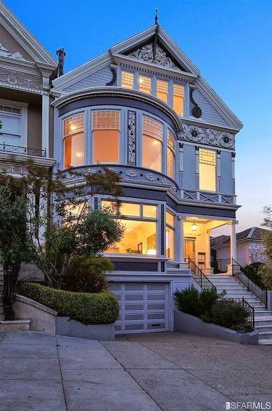 Una Casa Victoriana En San Francisco Descubrela Casas Victorianas Casa Hermosa Exteriores Caseros