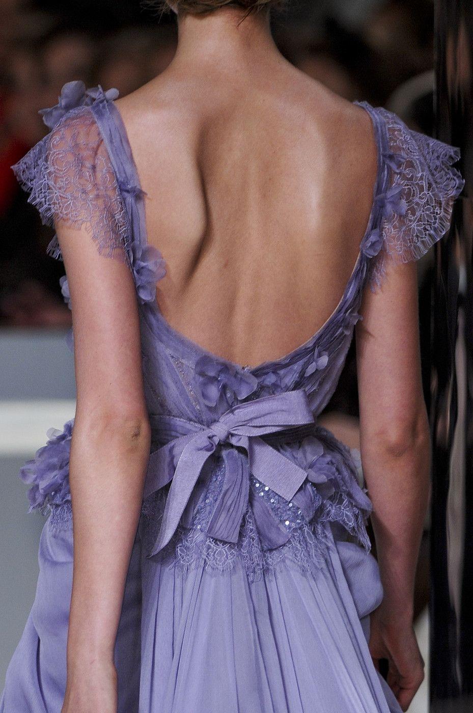 Lavender Lace gown / Elie SaabS/S 2011
