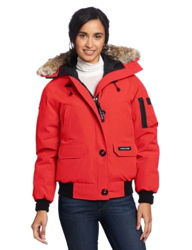 Canada Goose Women's Chilliwack Bomber, Red, X-Small · Coats And JacketsDown ...