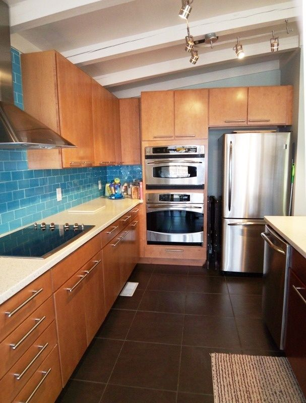 Kitchen   Awesome Atomic Ranch Interior. Could We Remove Our Cabinet Doors  And Replace With