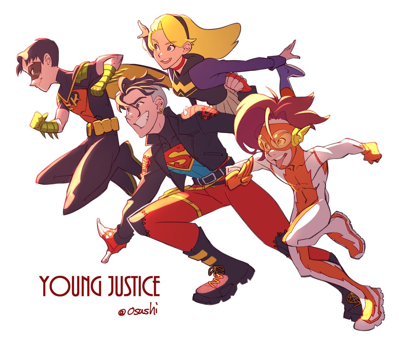 Supergirl and Superboy - Young Justice OCS!!! Fan Art