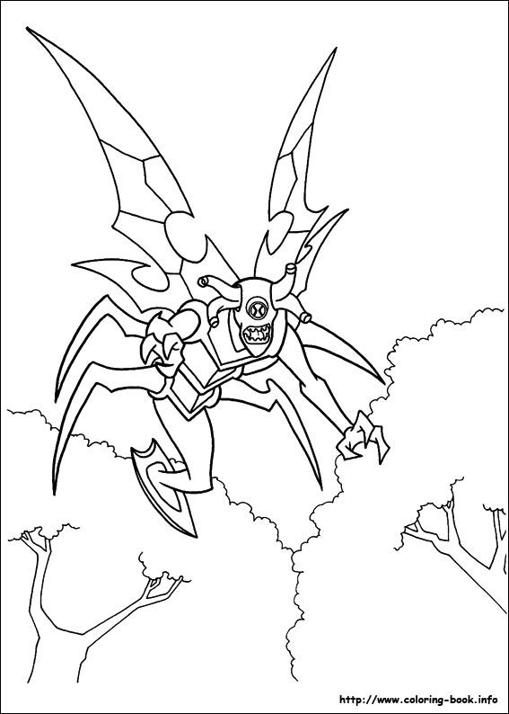 24 Free Printable Ben 10 Coloring Forkids Coloring Pages For Kids On Coloring Forkids Com Avengers Coloring Pages Coloring Pages Bear Coloring Pages