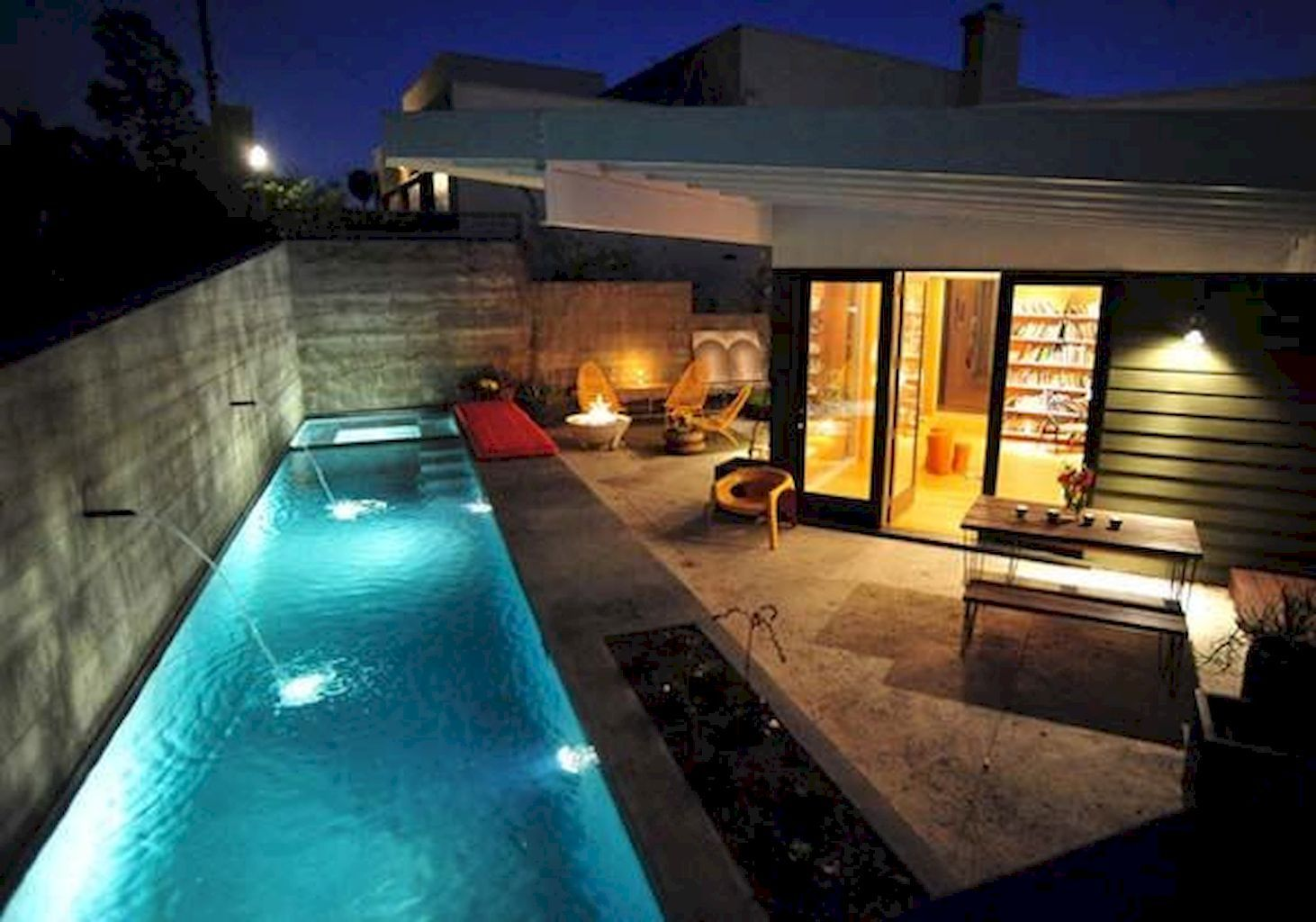Nice 88 Swimming Pool Ideas For A Small Backyard Https  ~ Piscinas Para Patios Pequeños Ideas