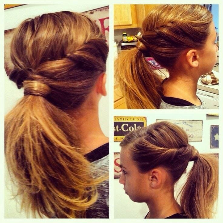 Stylish Pony Tales Ponytail Hairstyles Easy Long Hair Styles Pretty Ponytails