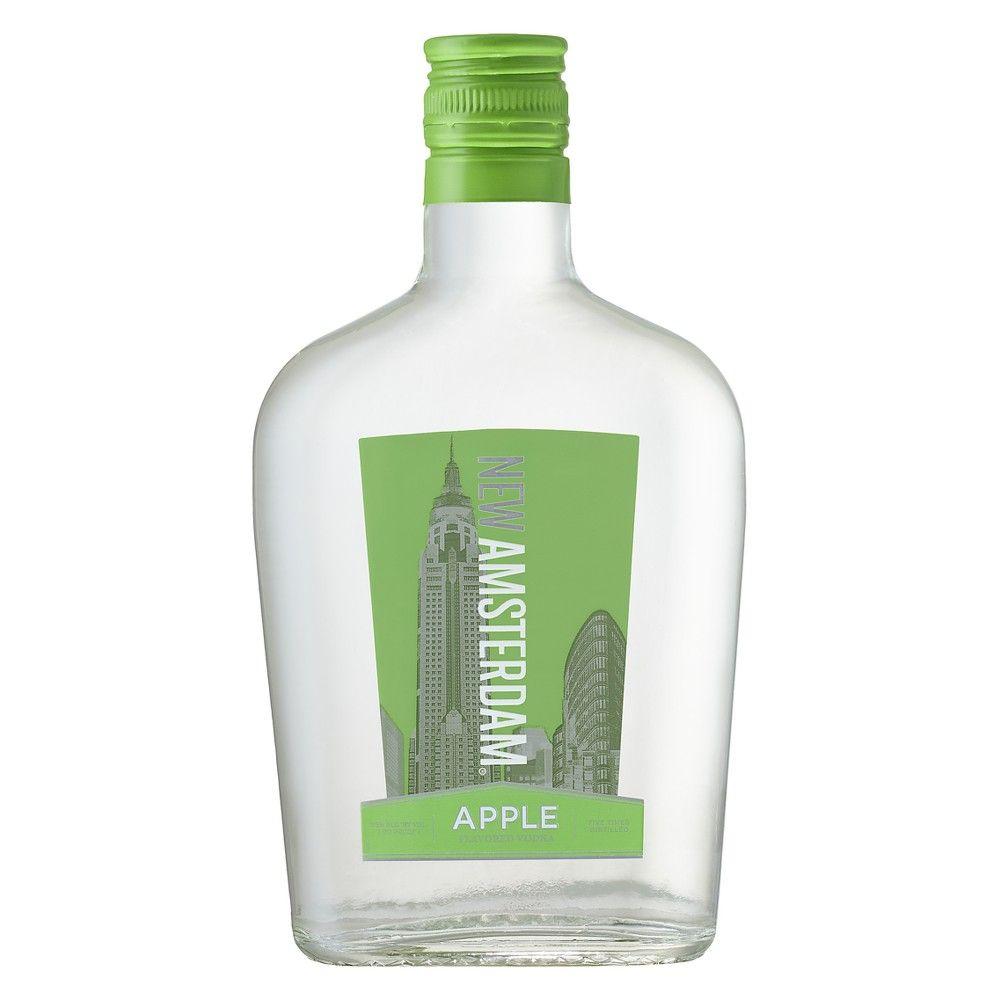 New Amsterdam Apple Flavored Vodka 375ml Bottle Apple Vodka Vodka