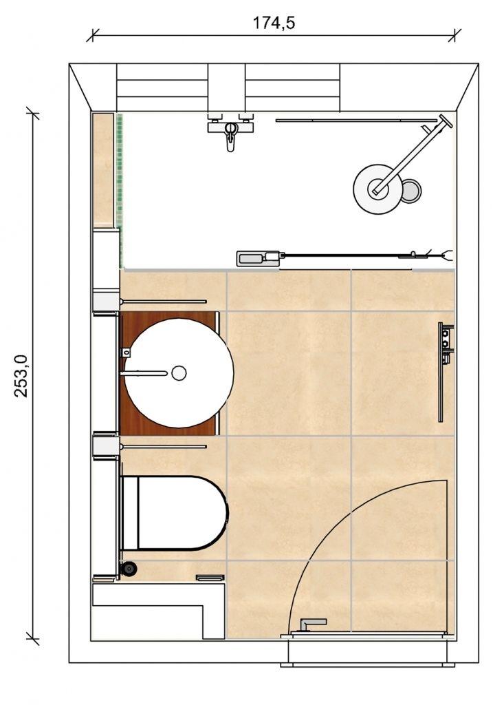 jetzt herunterladen komplettes bad mit wanne und dusche auf 4 qm bad heizung kleines. Black Bedroom Furniture Sets. Home Design Ideas