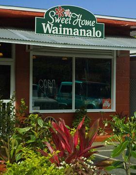 This Shop Looked So Cute Sweet Home Waimanalo In Hawaii Craft