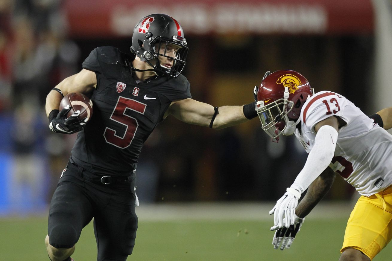 Christian Mccaffrey Won Stanford The Pac 12 Title Football