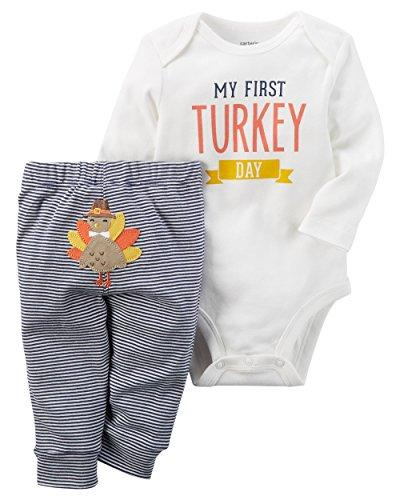 7d5f72f8fba Carter s Baby My First Turkey 2-Piece Bodysuit Pants Set