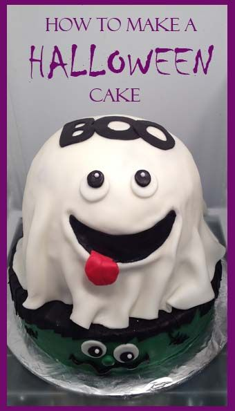 How to make a Halloween Cake Cakes and more Pinterest - decorating halloween cakes