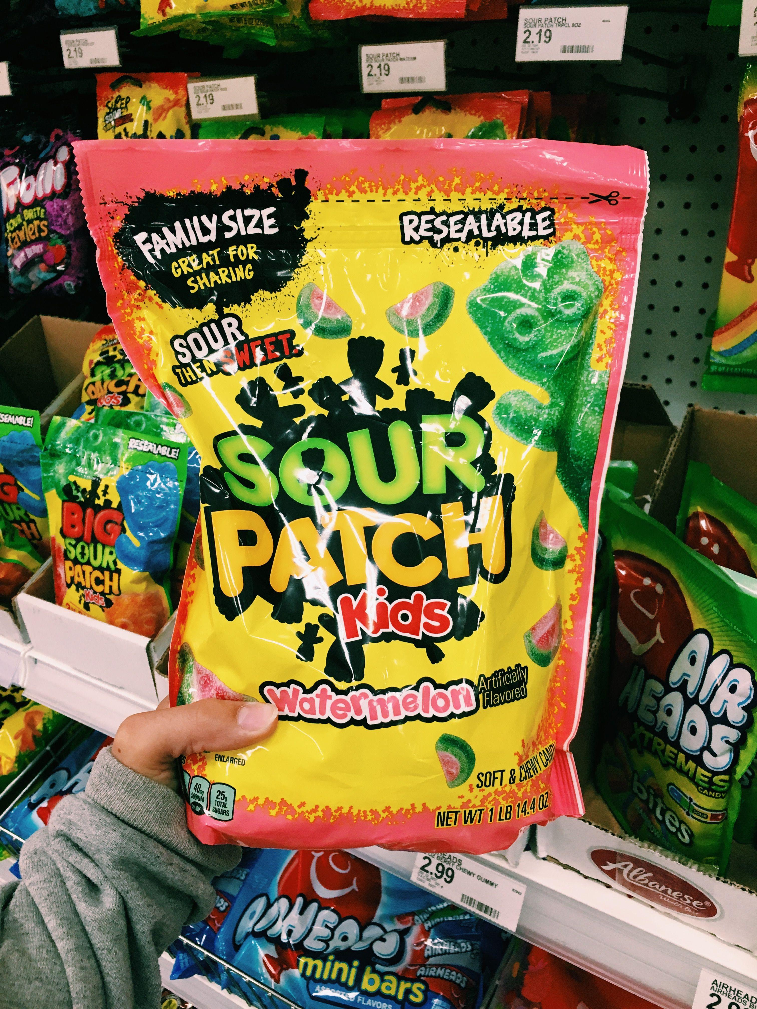 Sour Patch Kids Watermelon Is Lyfe Sour Patch Kids Sour Patch Watermelon Sour Candy