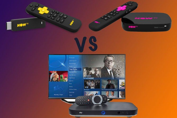 Now TV vs Sky Q Which Sky package is right for you? Sky