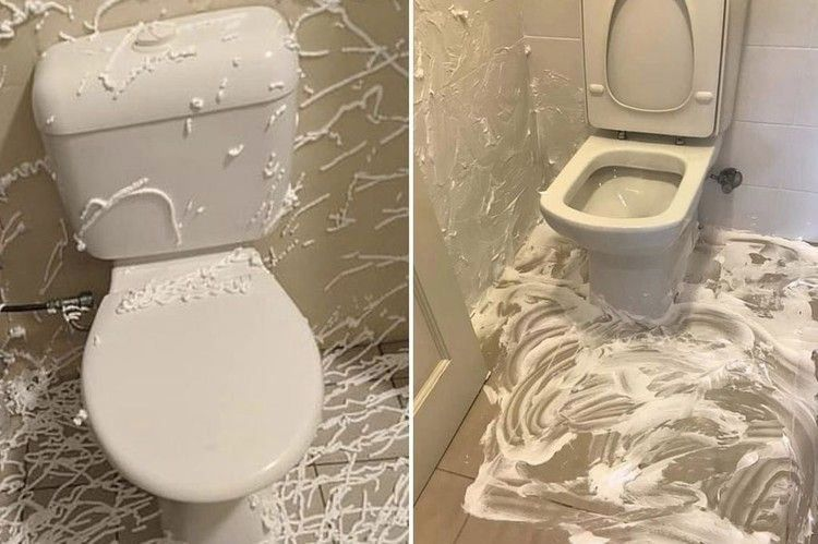 Shaving Cream Trick That Will Get Rid Of Urine Smell In Your Bathroom For Good Mirror Online 1000 In 2020 Bathroom Smells Urinal Cool Mirrors