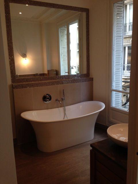 Salle de bain Parisienne - comme un boudoir Mes réalisations