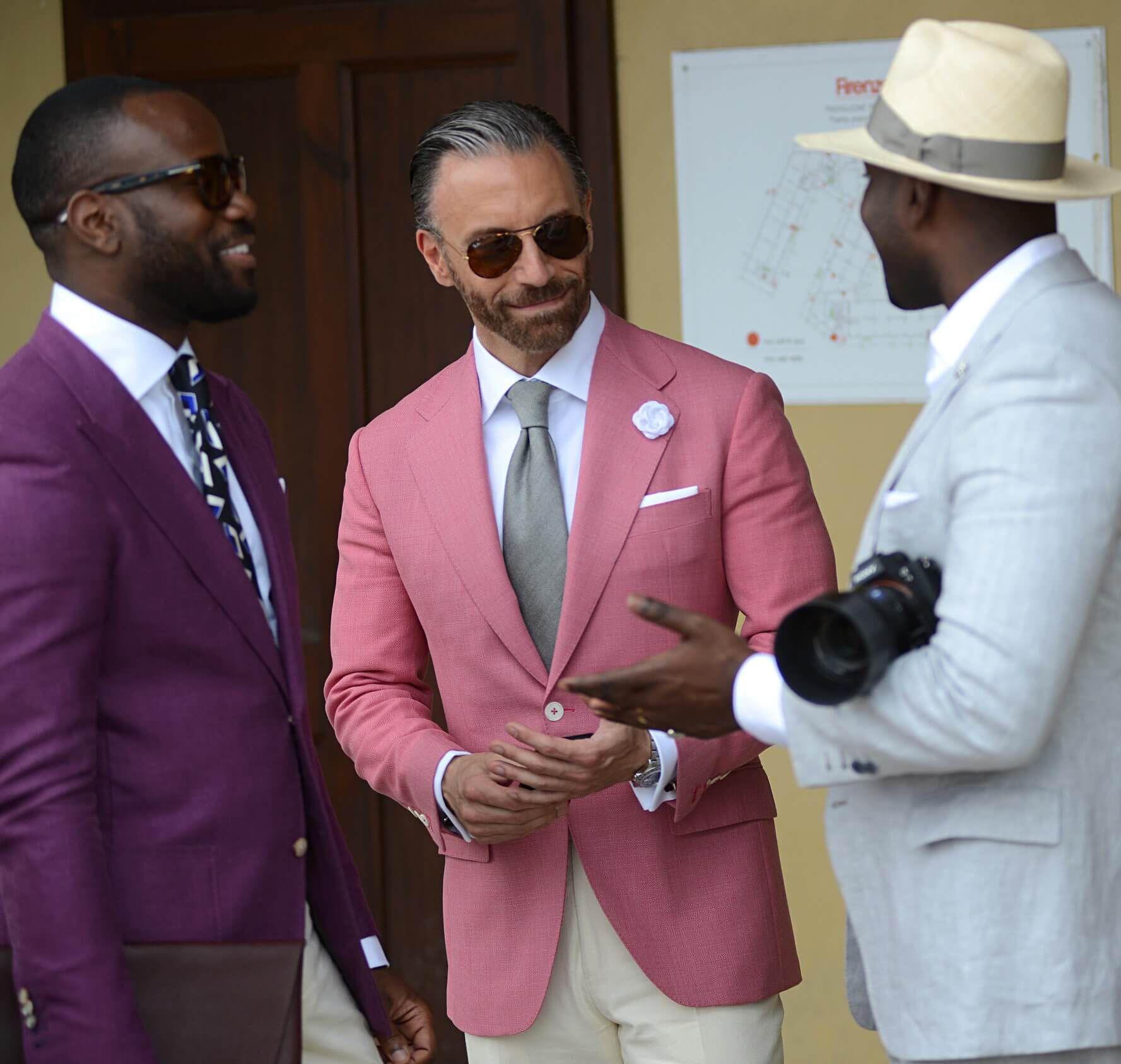 f57e4d09c623 Real Men Wear Pink in 2019 | Things to Wear | Blazer outfits men ...
